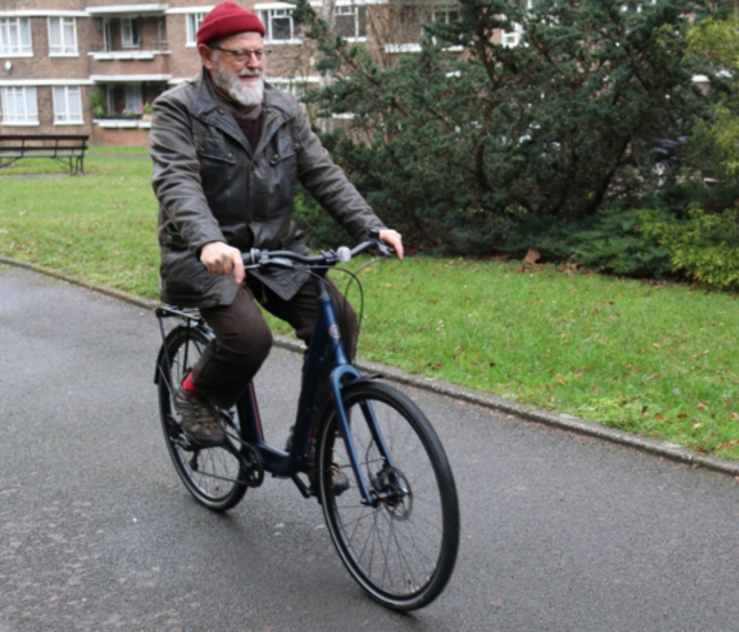 The bicycle firm that wants to older people pedalling