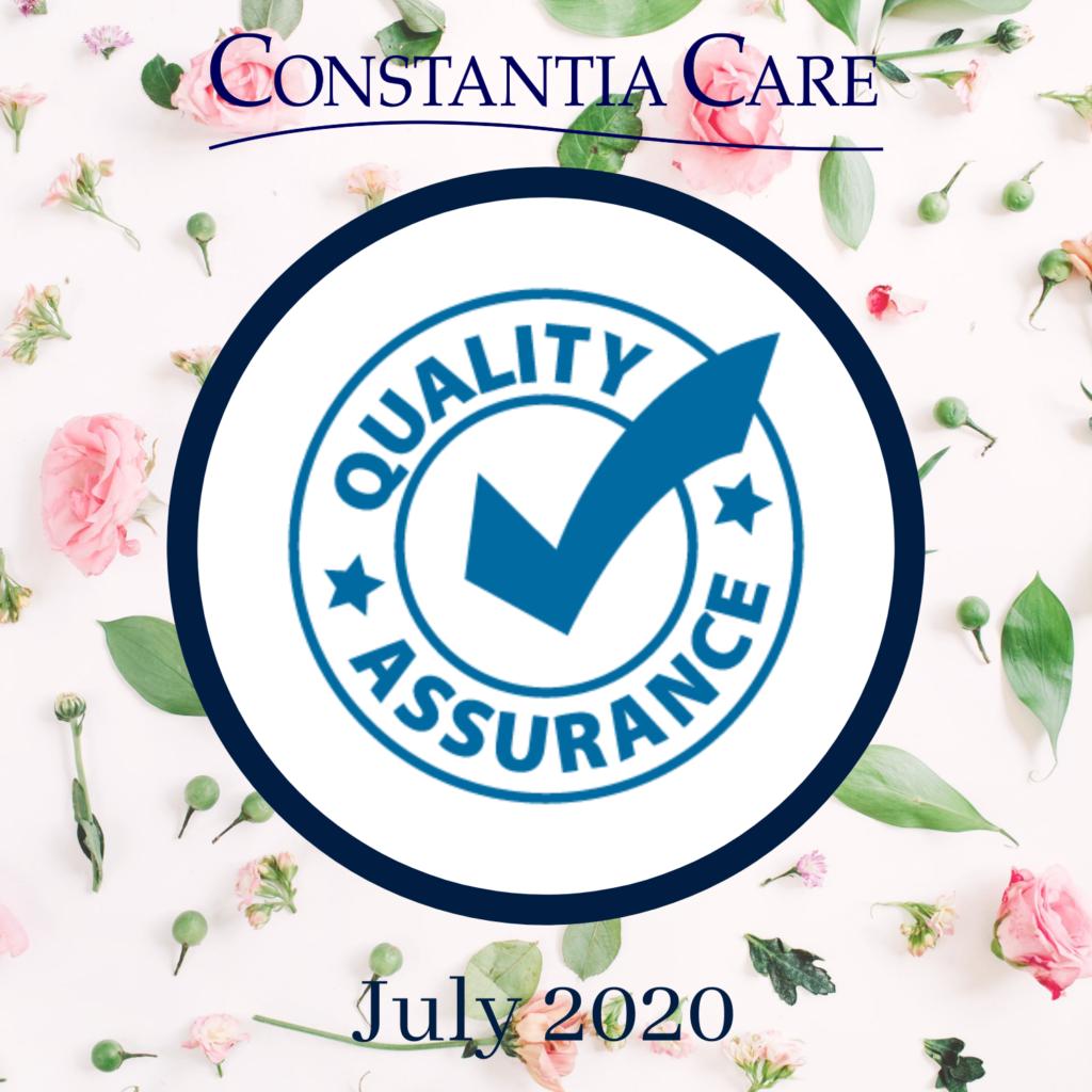 Quality Assurance July 2020