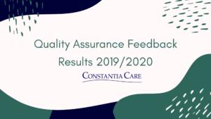 Feedback Audit Results 2019/20