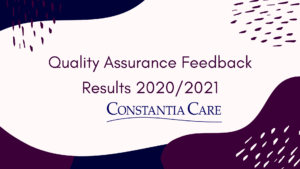 QUALITY ASSURANCE DECEMBER 2020/ JANUARY 2021